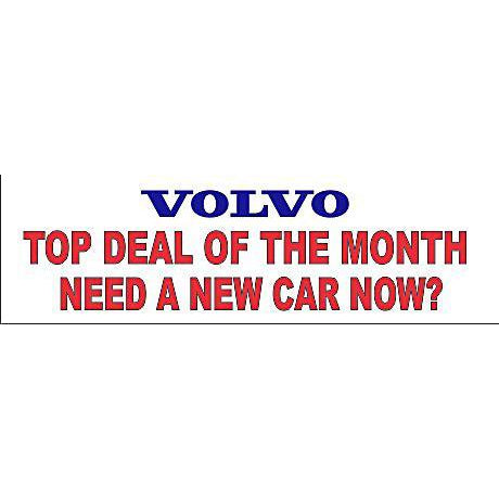 Vovlo Top Deal of the Month Banner
