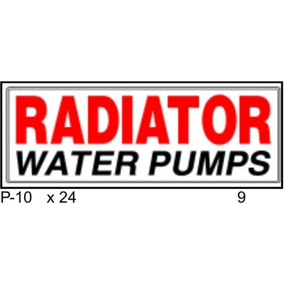 Radiator Water Pumps
