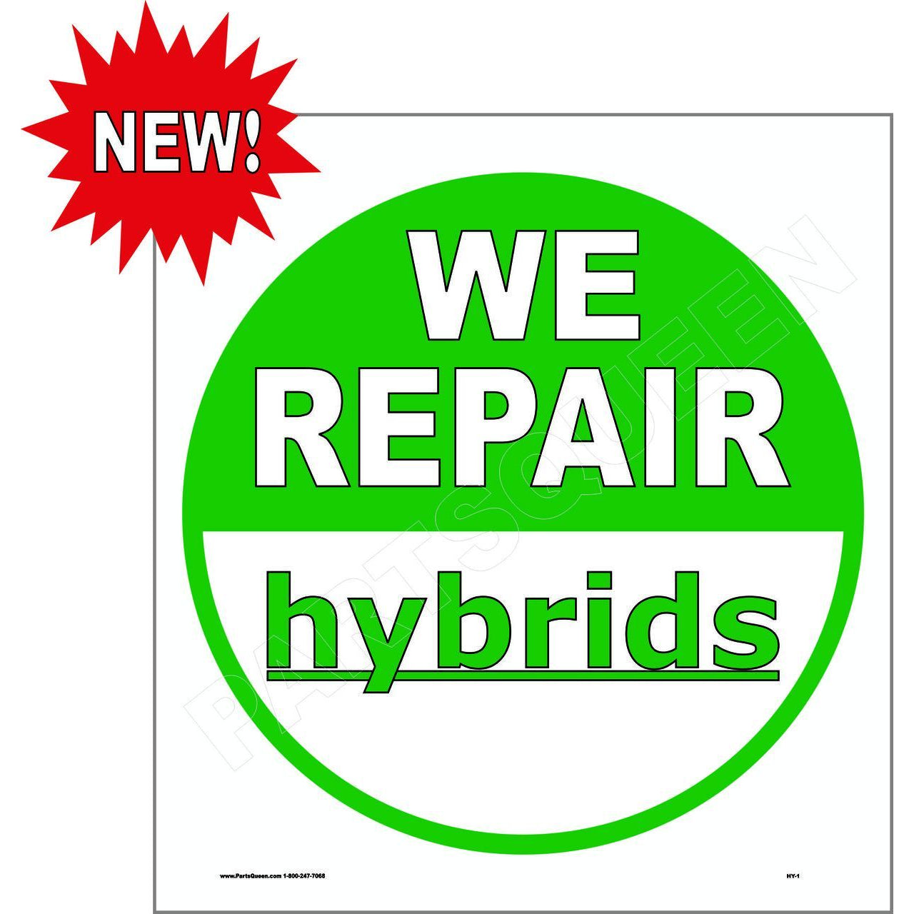WE REPAIR HYBRIDS HY1