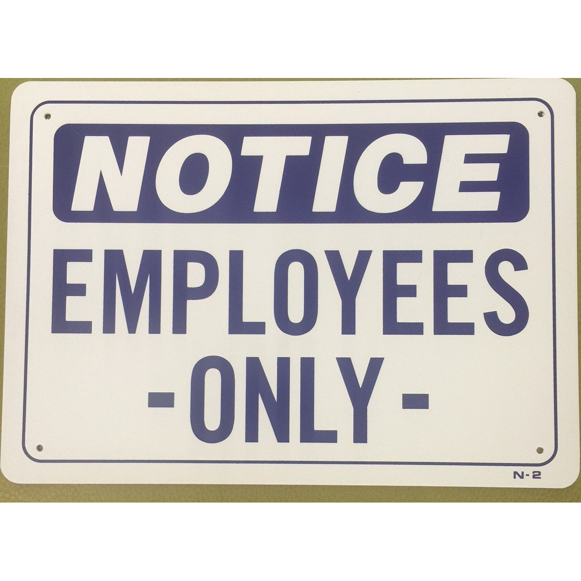 EMPLOYEES ONLY #N2