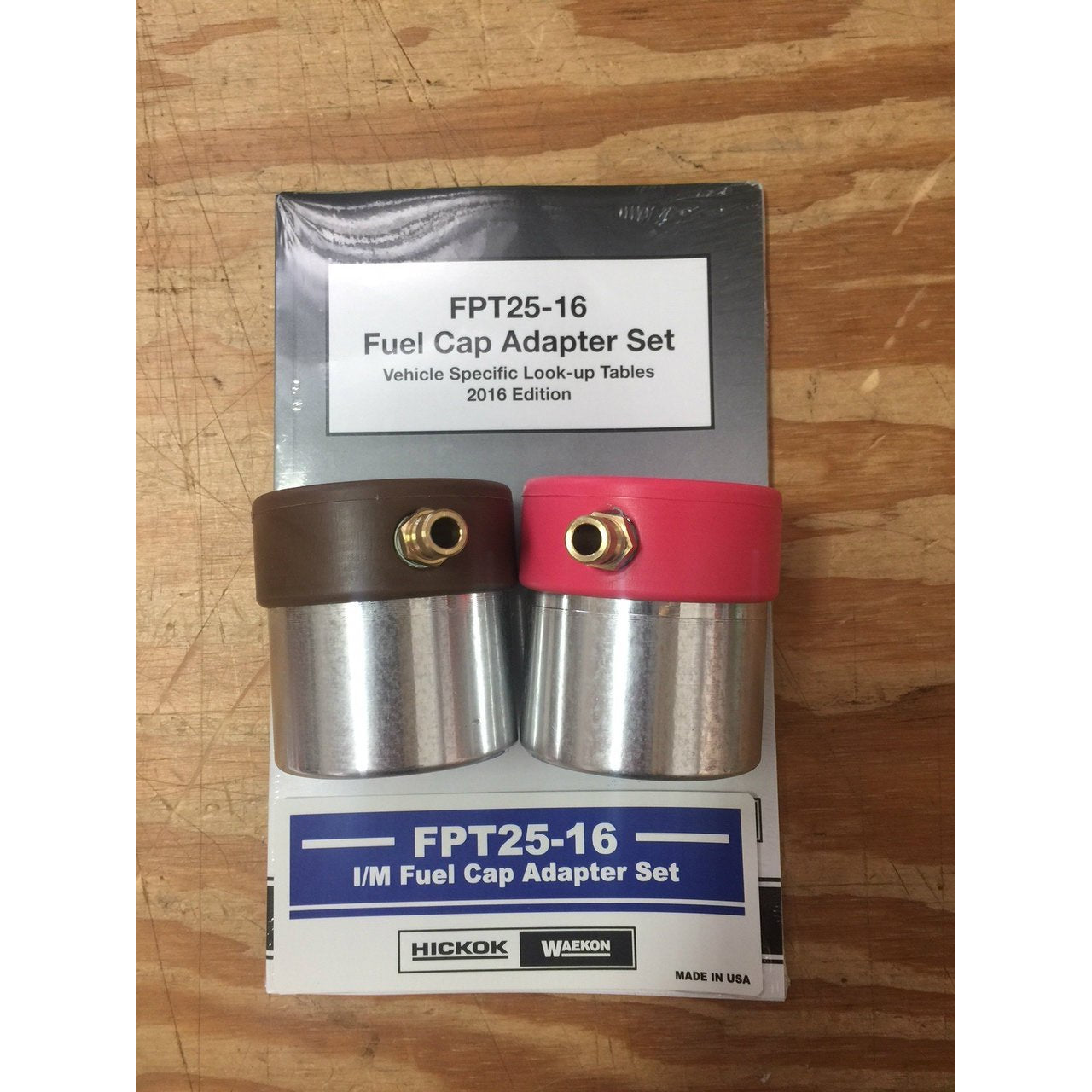 ** NEW ** WAEKON FUEL CAP ADAPTER KIT FPT 25-16