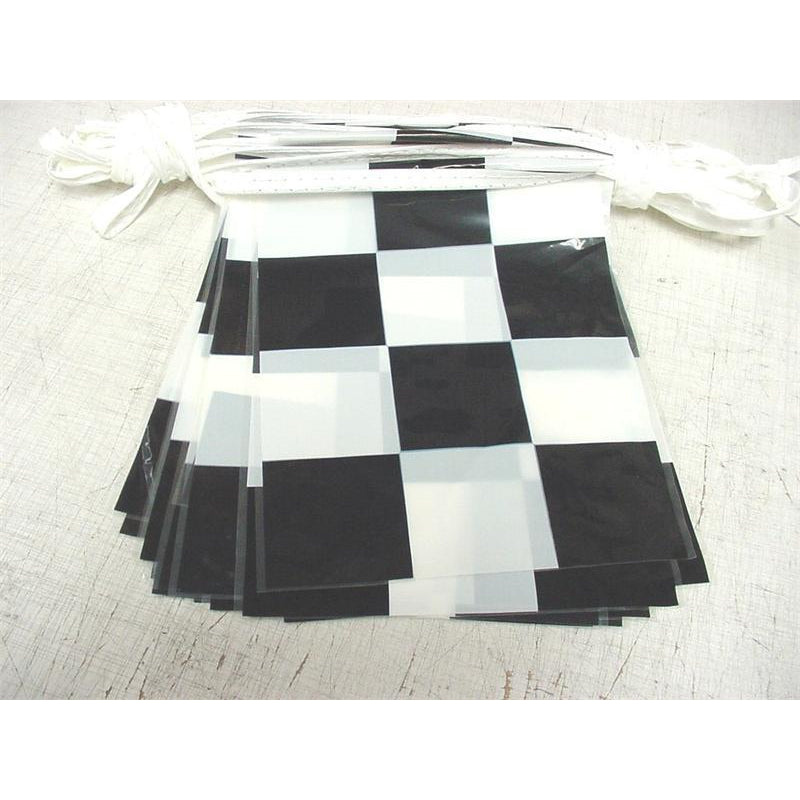Checkered Pennants, Black & White