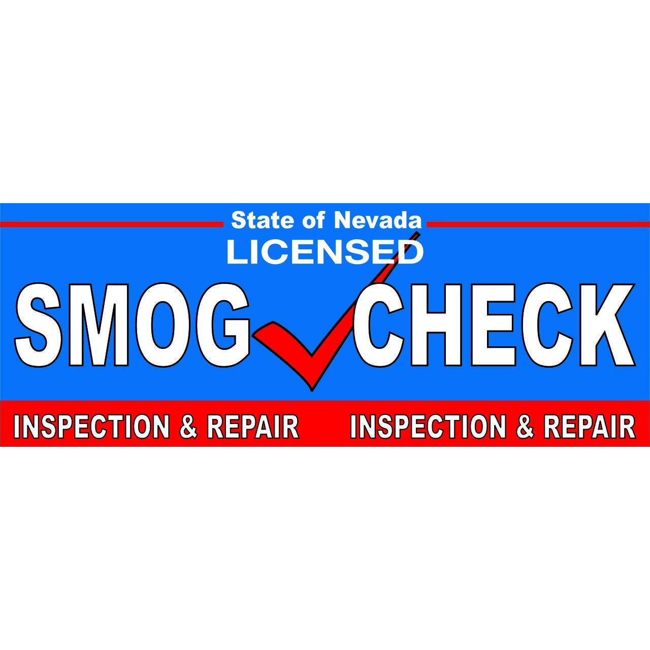 NEVADA SMOG CHECK BANNER INSPECTION & REPAIR NVB2
