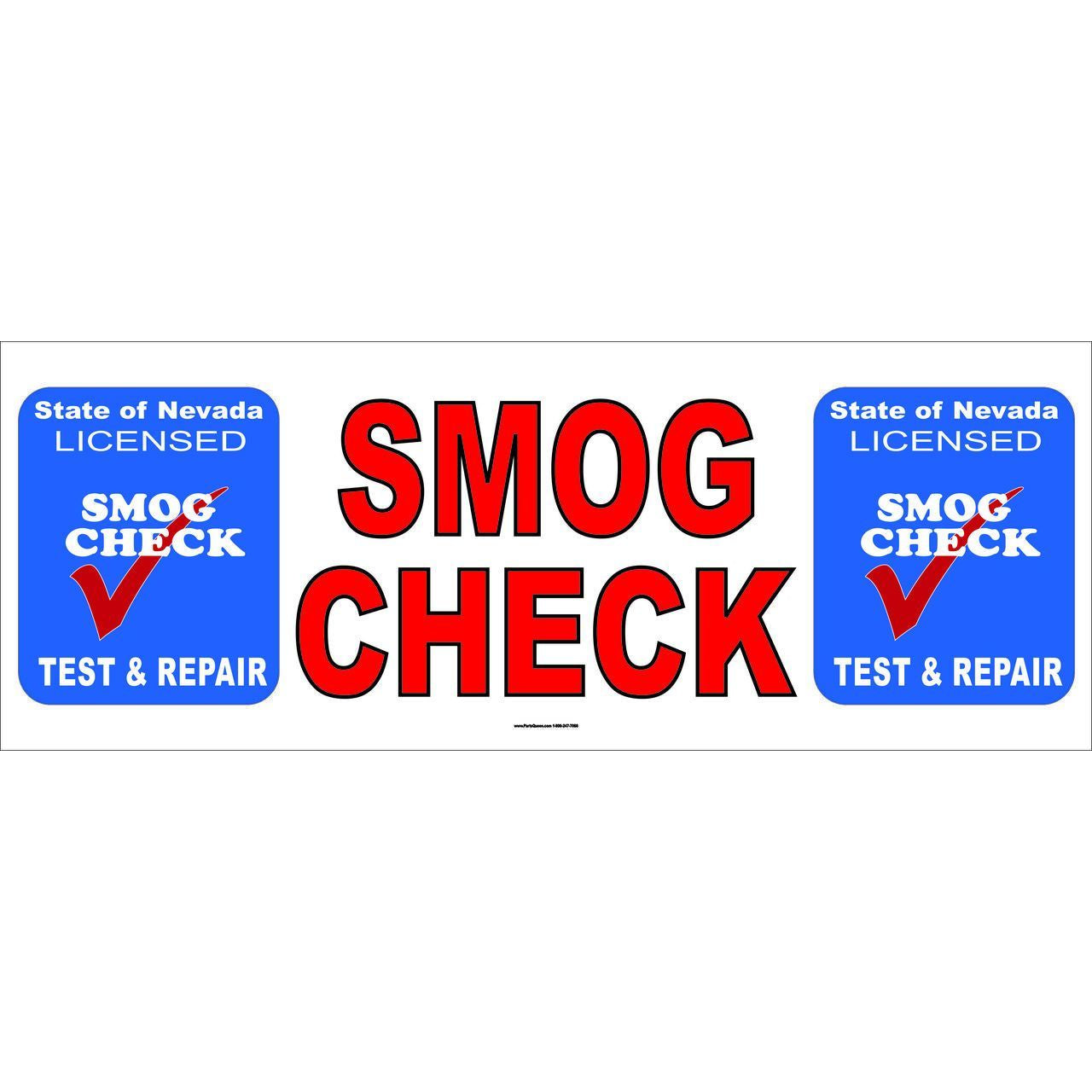 NEVADA SMOG CHECK BANNER TEST & REPAIR NVB3