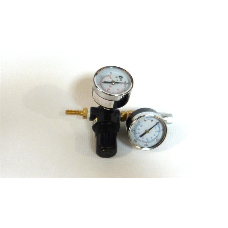 PRESSURE REGULATOR TWO GAUGE  #SMREG2