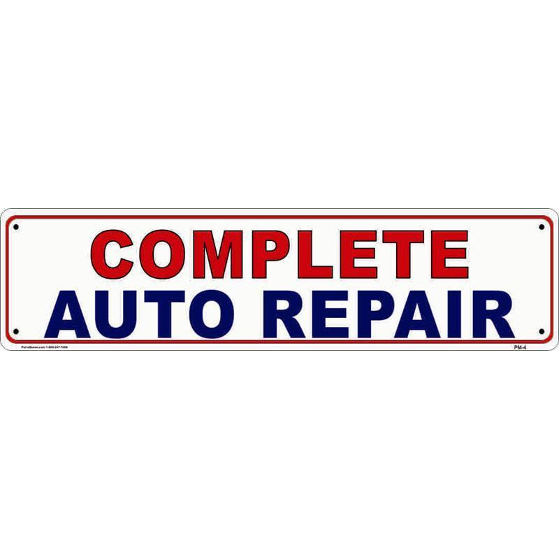PANEL SIGN AUTO REPAIR #PM4