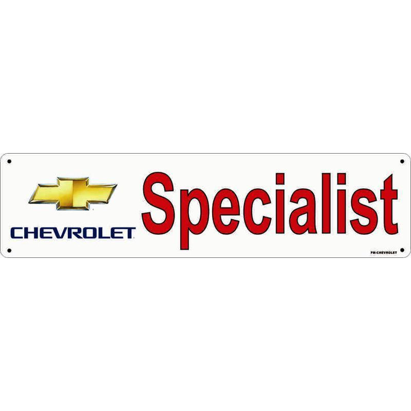 PANEL SIGN CHEVROLET