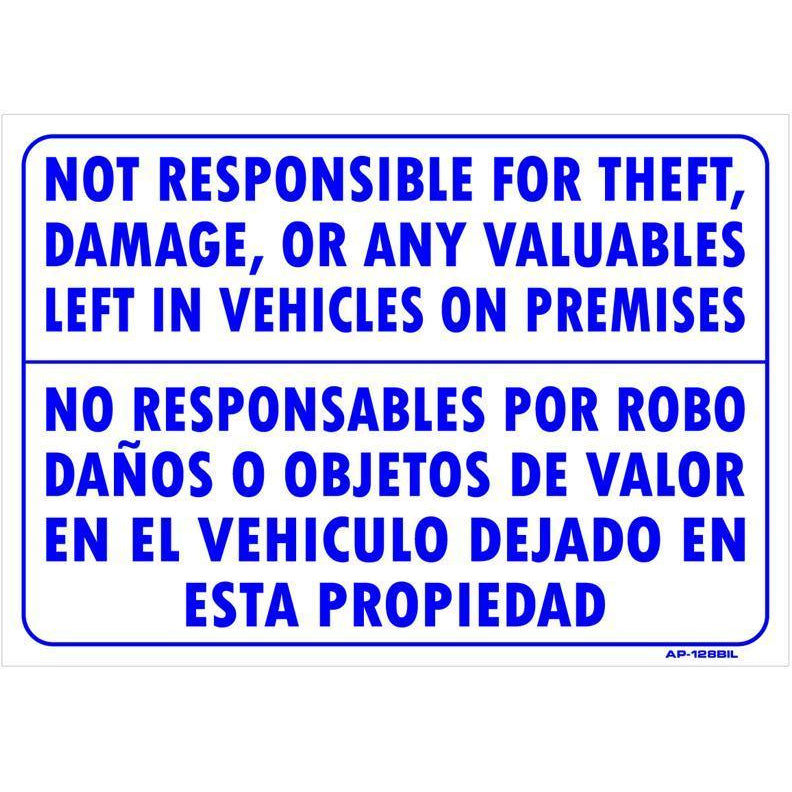 REMOVE VALUABLES #AP128BIL