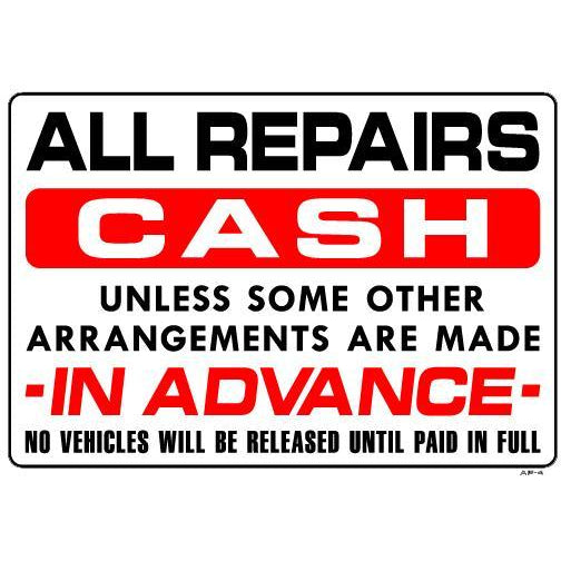 ALL REPAIRS CASH # AP4