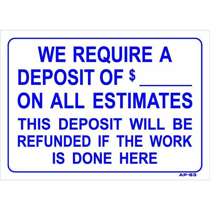 DEPOSIT REQUIRED #AP63