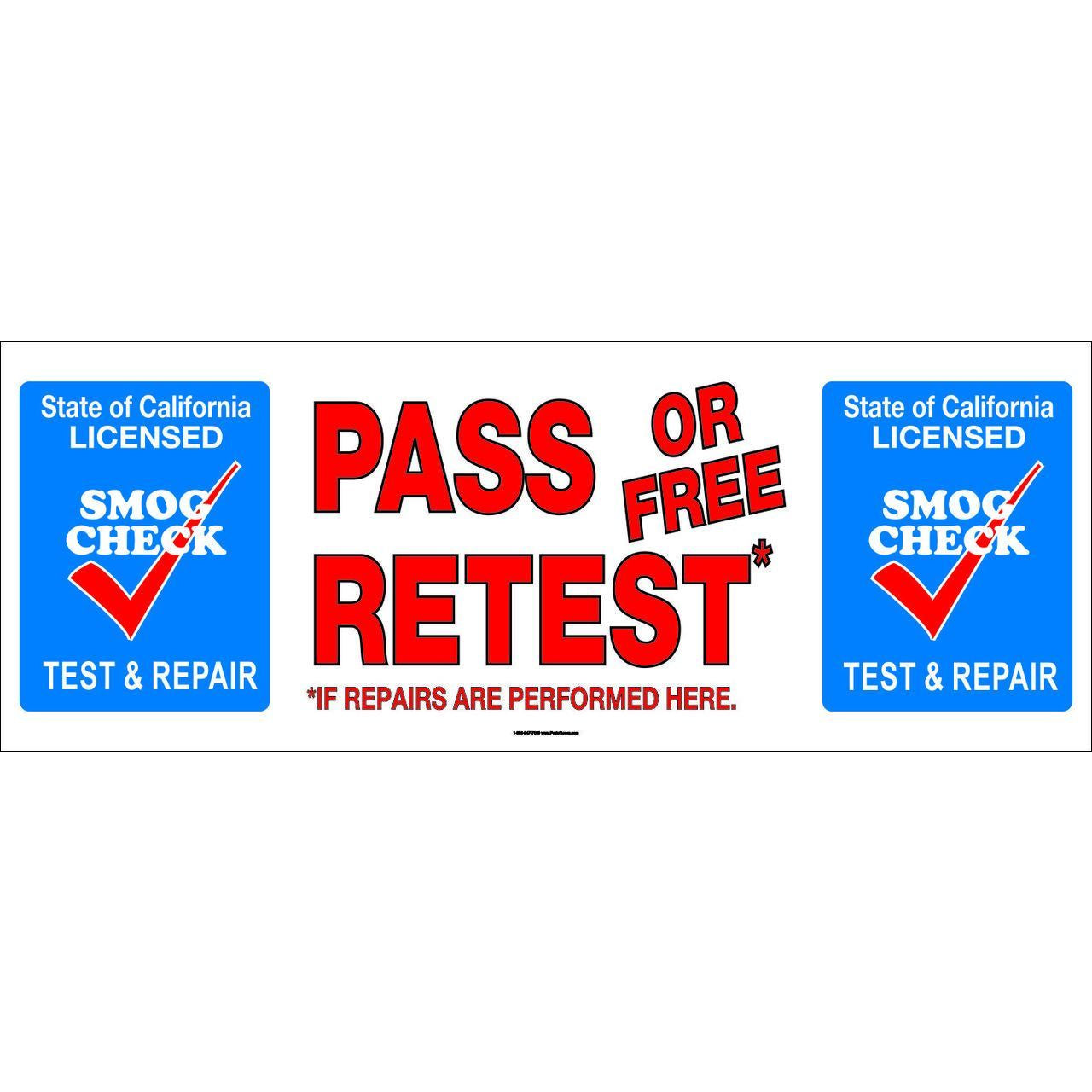 PASS OR FREE RETEST SB-9