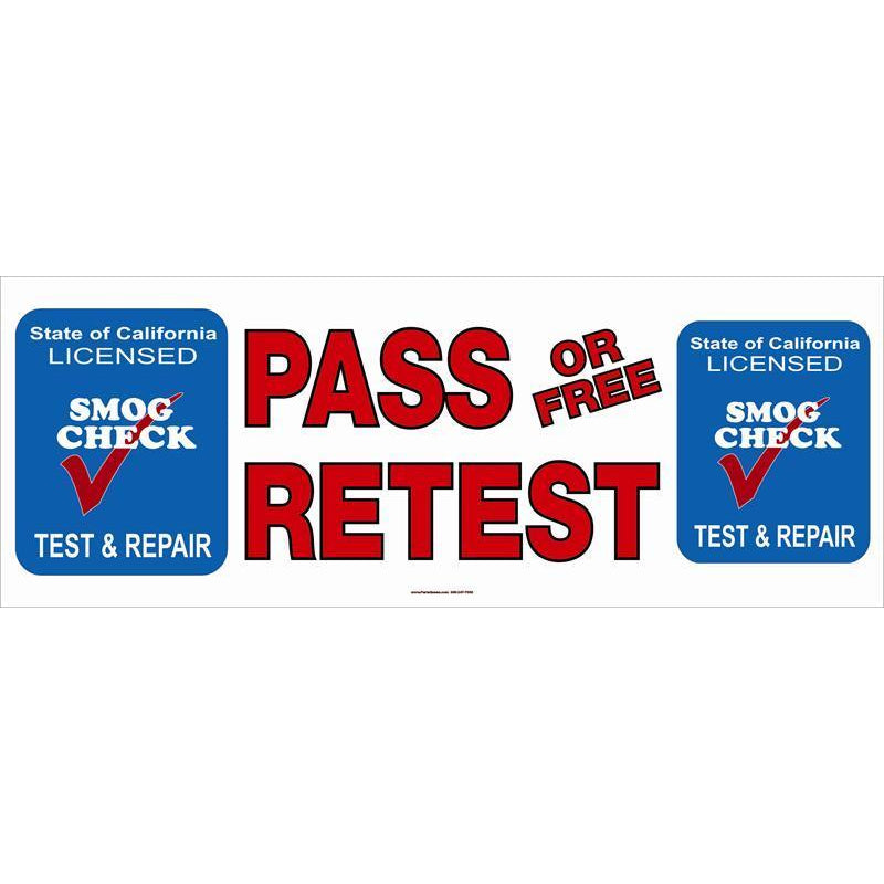 PASS OR FREE RETEST BANNER # SB2