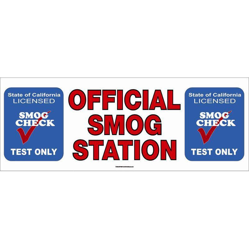 OFFICIAL SMOG TEST ONLY #SB5TO