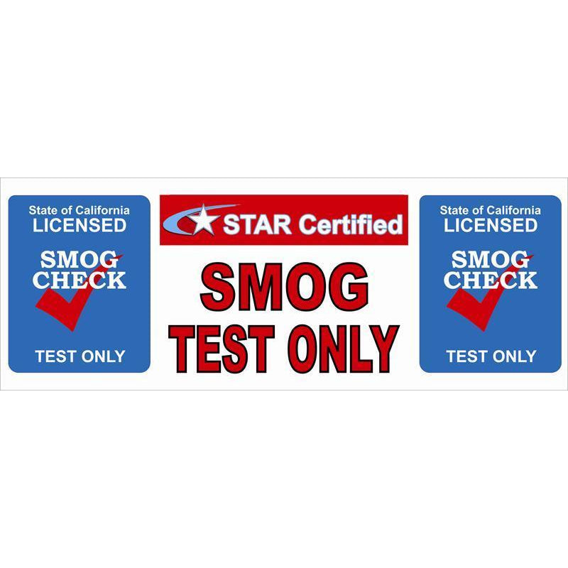 SMOG TEST ONLY BANNER #SBSTARTESTONLY