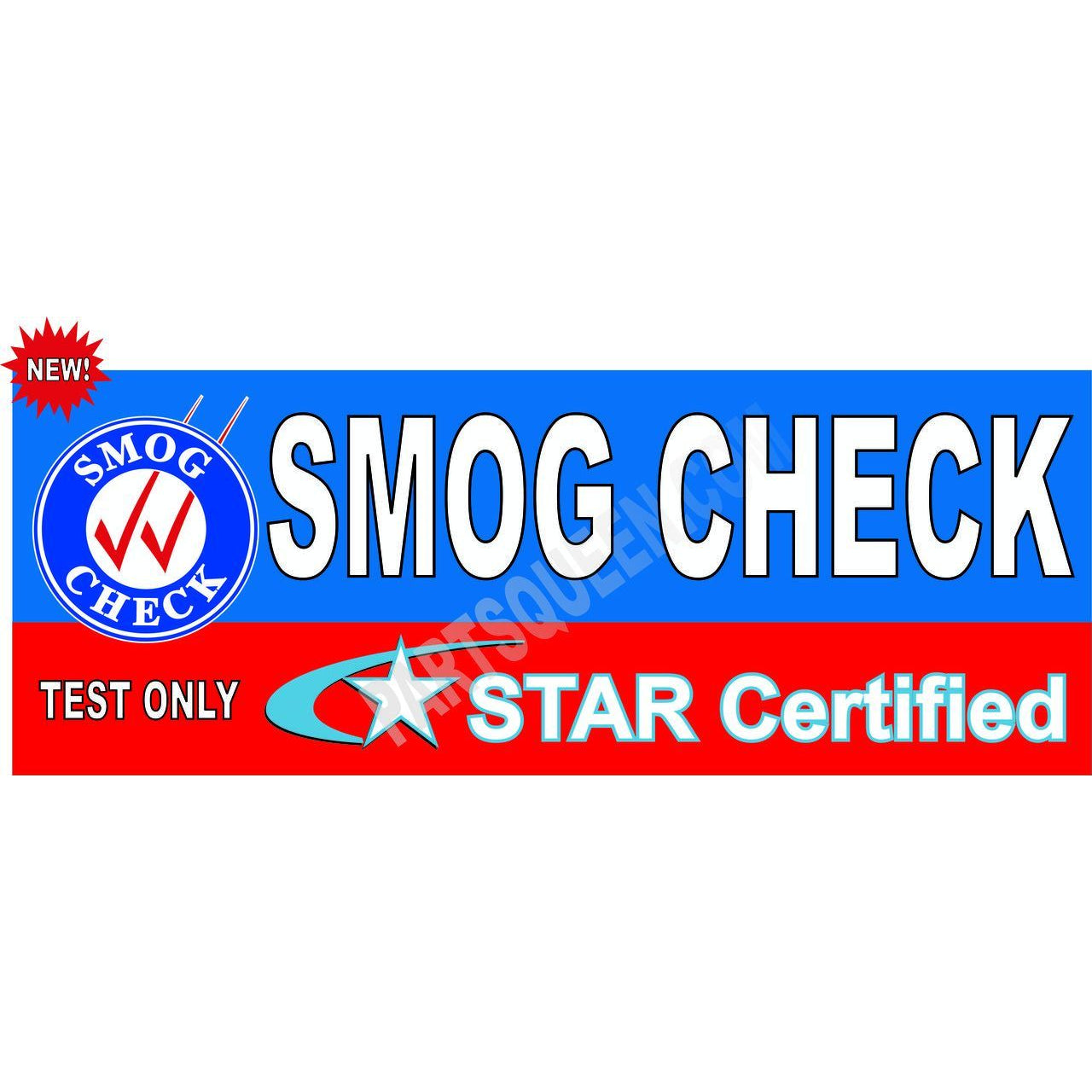 STAR CERTIFIED TEST ONLY BANNER # SB936