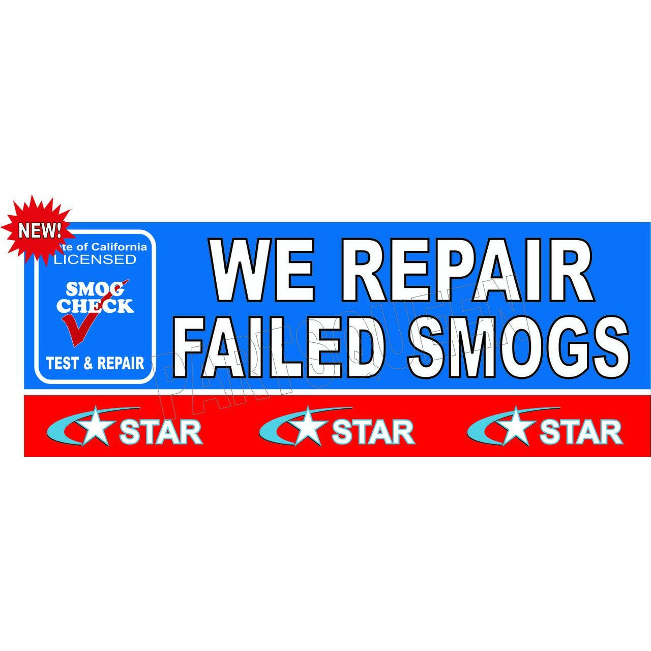 REPAIR FAILED SMOG BANNER # SB941
