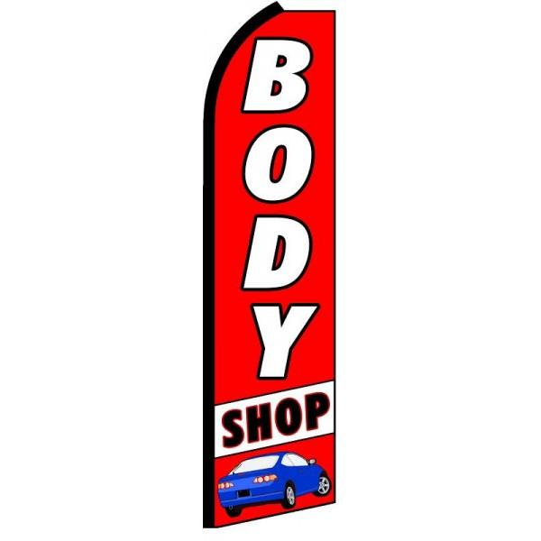 BODY SHOP SWOOPER FLAG # SF-0034