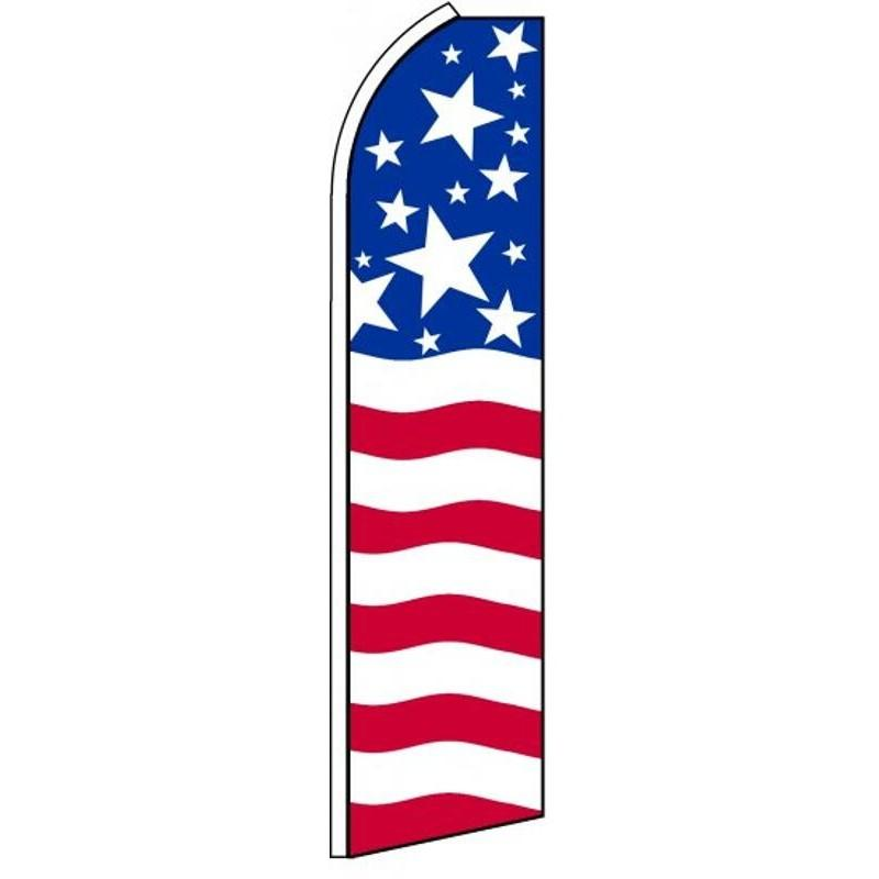 AMERICAN FLAG SWOOPER FLAG  SFPT0589