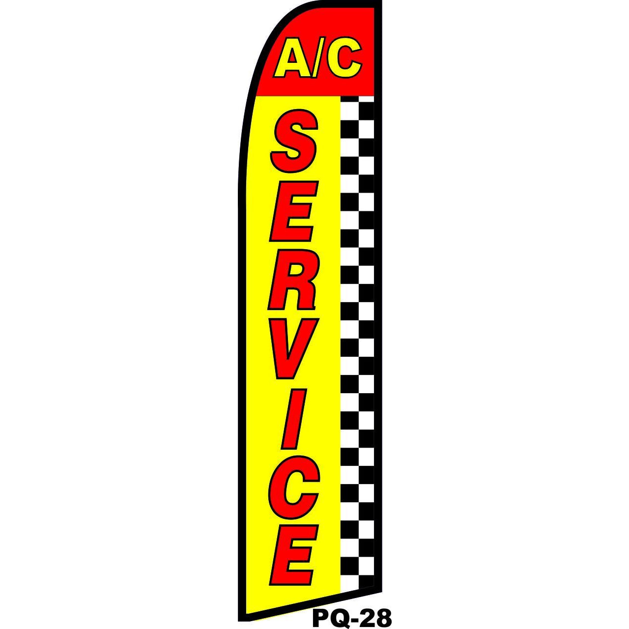 A/C SERVICE SWOOPER FLAG NEW SF-PQ28