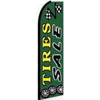 TIRE SALE SWOOPER FLAG # SFTiresSale