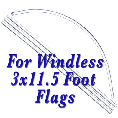 OFFICIAL SMOG STATION STAR CERTIFIED WINDLESS SWOOPER FLAG SET # W-SF-C68-SET