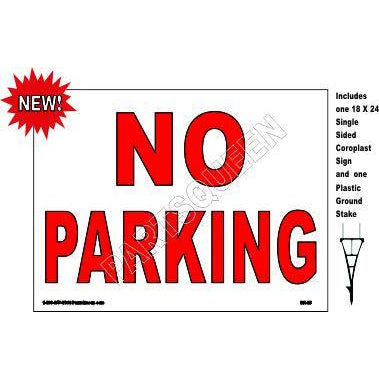 Stake Sign Kit No Parking