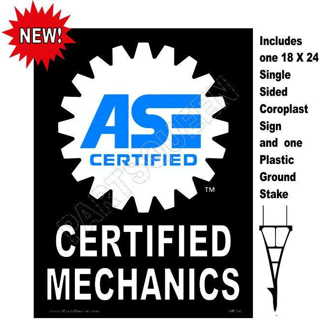 Stake Sign Kit ASE