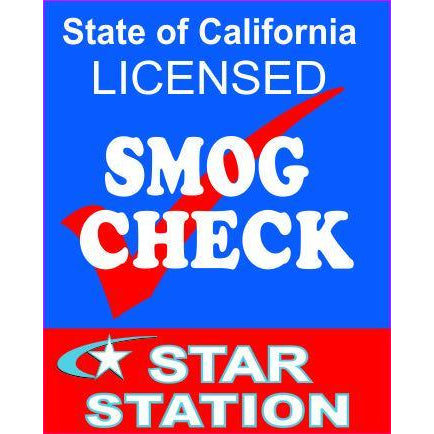 STAR CERTIFIED SMOG SIGN #DS250