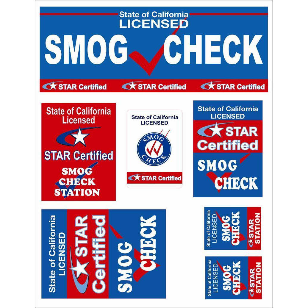 STAR CERTIFIED DECALS