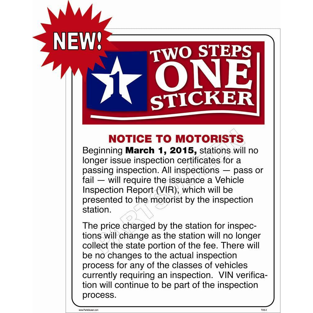 TEXAS TWO STEP SIGN  # TXS-2
