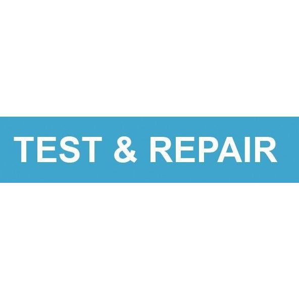 TEST & REPAIR DECAL #SCSTAR3