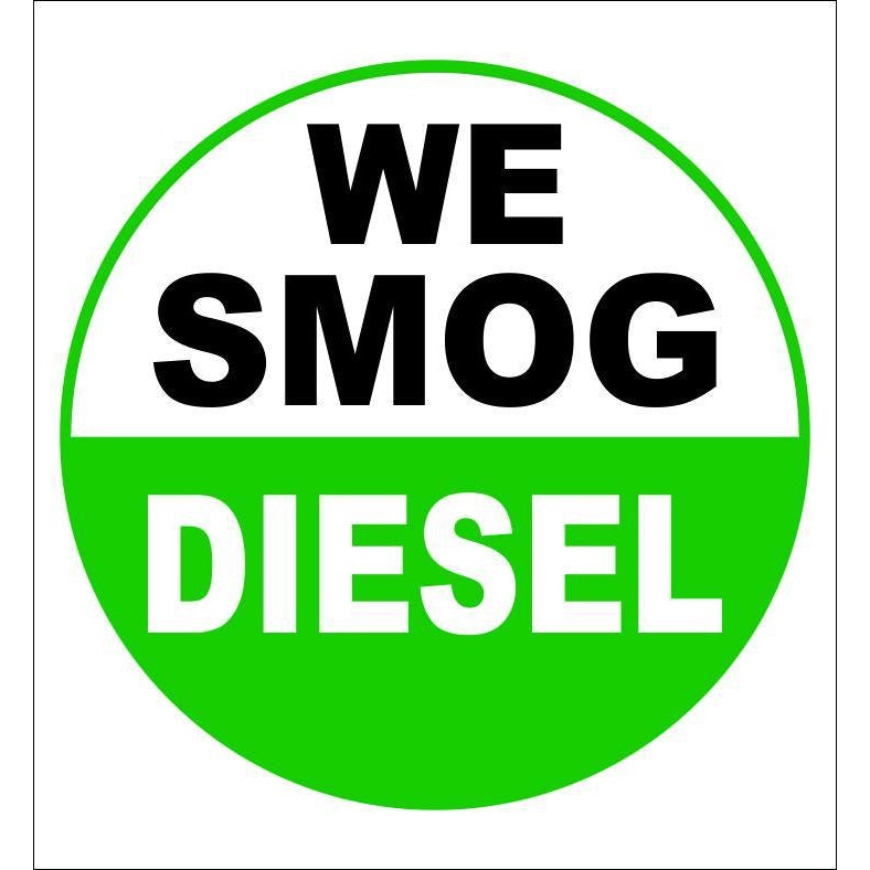 WE SMOG DIESEL SIGN #SMOG01
