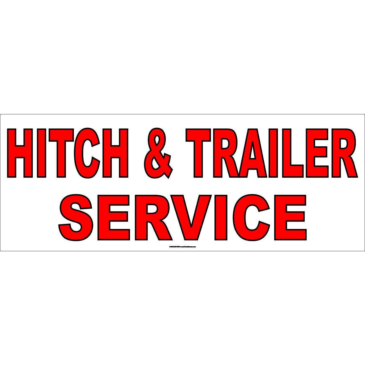 HITCH & TRAILER BANNER AB701