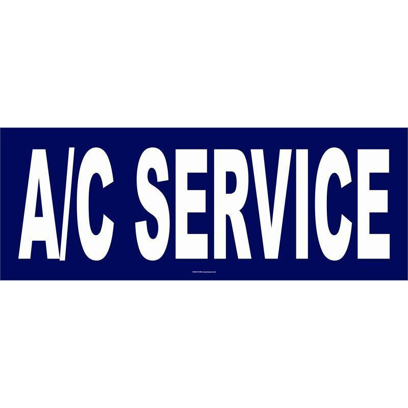 A/C SERVICE BANNER  #AB162