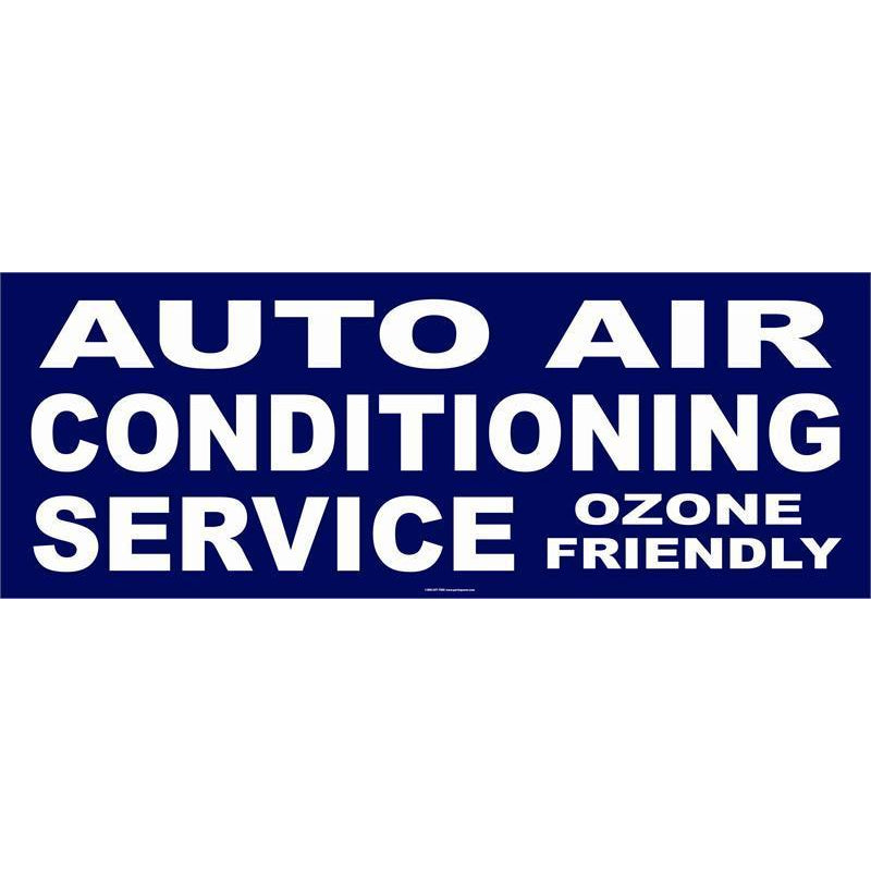 AUTO AIR CONDITIONING BANNER #AB17