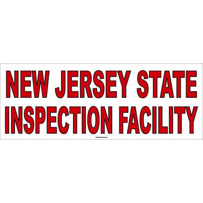 NEW JERSEY INSPECTION BANNER #AB190NJ