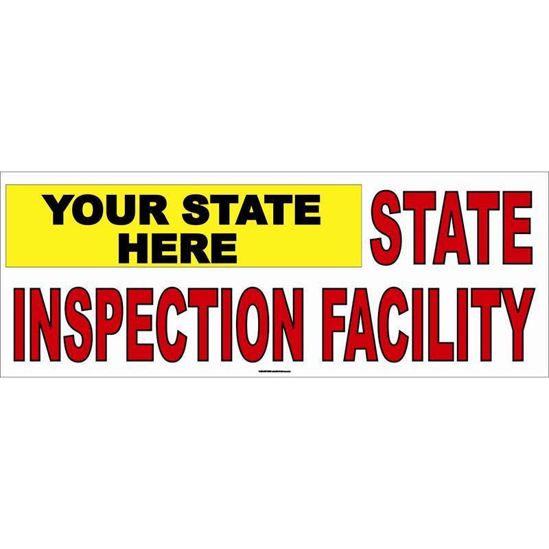 STATE INSPECTION BANNER #AB190STATE