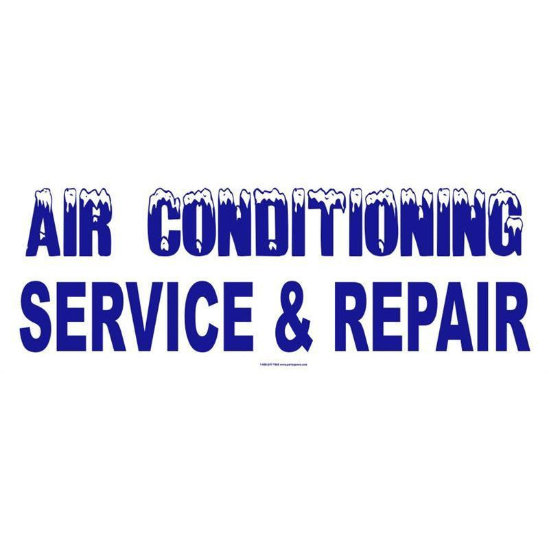 AIR CONDITIONING BANNER #AB210