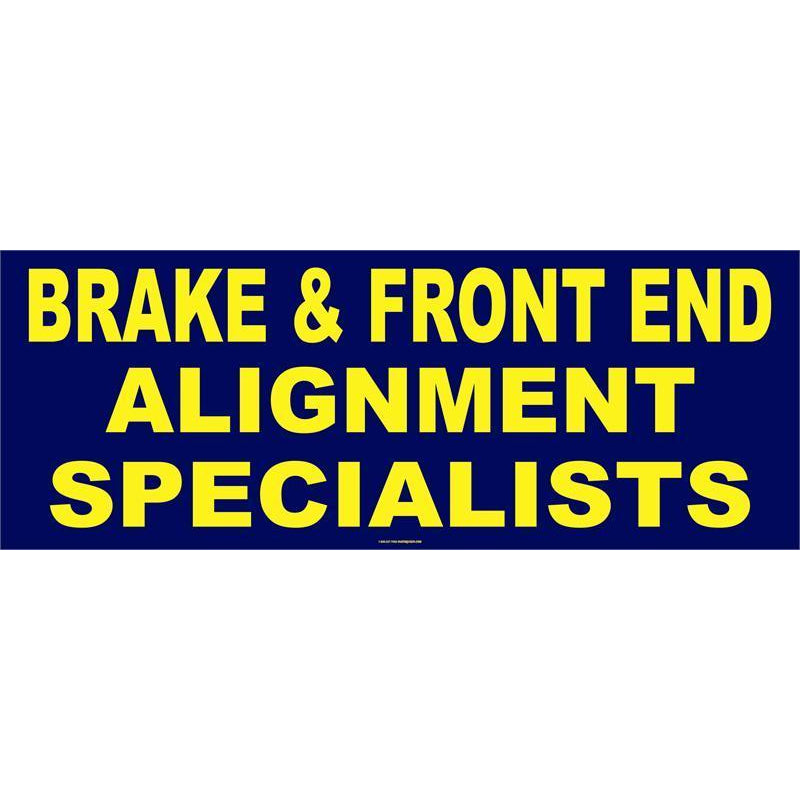 BRAKES / FRONT END BANNER #AB68
