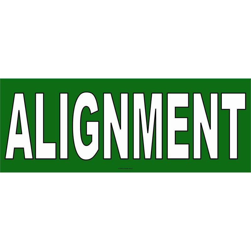 ALIGNMENT BANNER #AB92