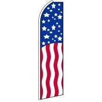 AMERICAN FLAG SWOOPER FLAG # SFPT0590