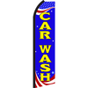 PATRIOTIC CAR WASH SWOOPER FLAG # SE3