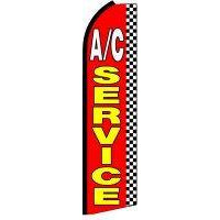 AC SERVICE SWOOPER FLAG # SF0004