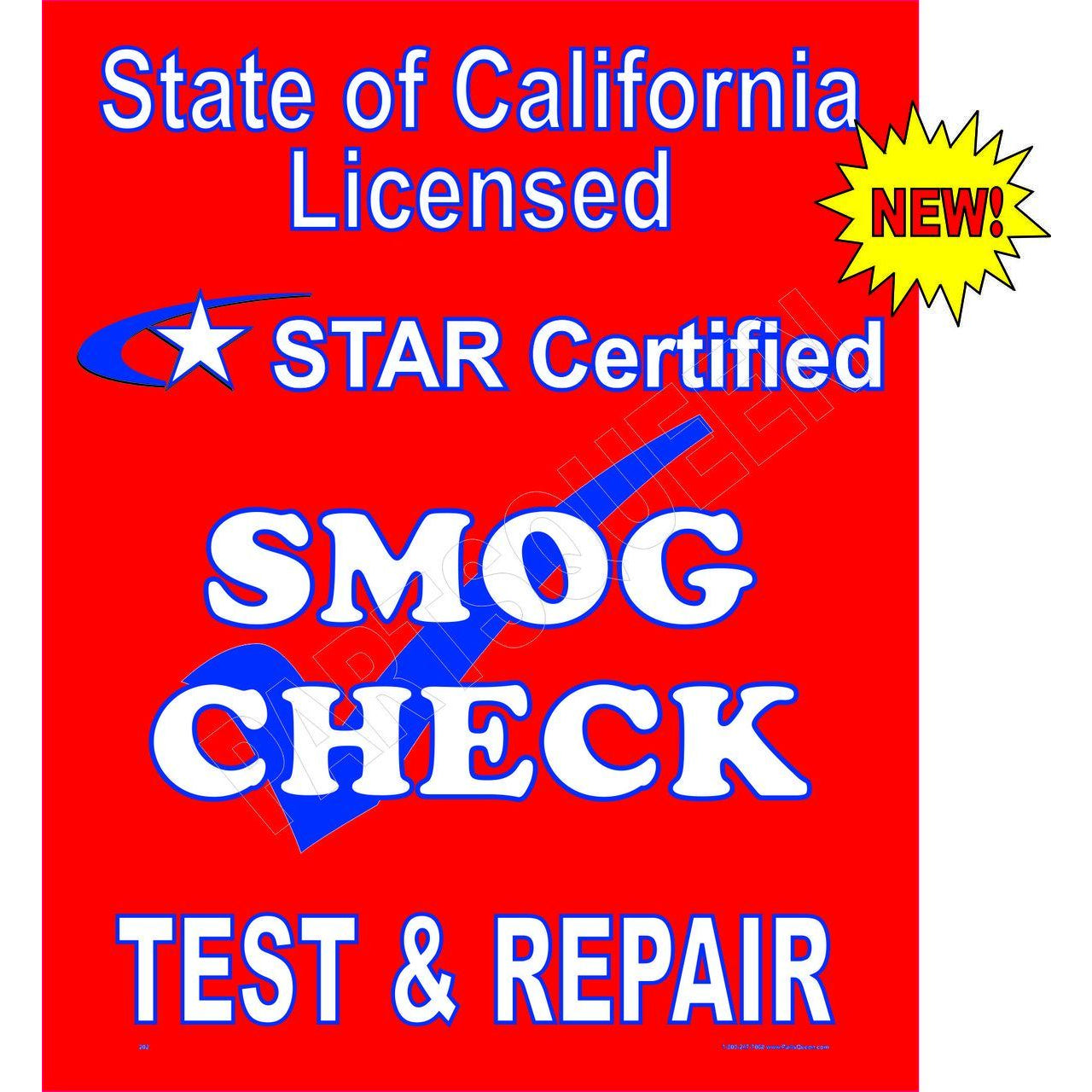 STAR CERTIFIED TEST & REPAIR SHIELD # DS-202