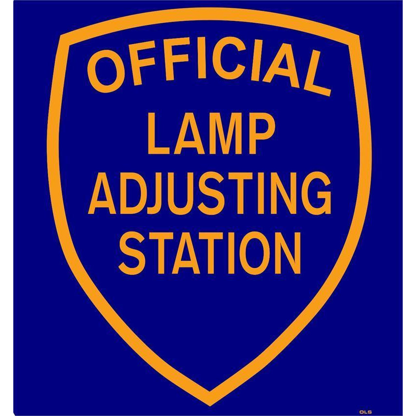 LAMP SHIELD SIGN #LSDS
