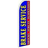BRAKE SERVICE SWOOPER FLAG # SF0253