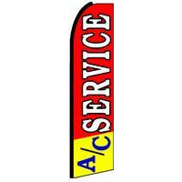 AC SERVICE SWOOPER FLAG # SF0006