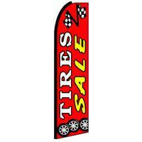 TIRES SALE SWOOPER FLAG # SFAR0083
