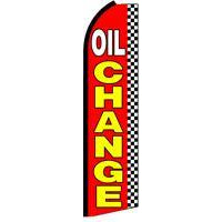 OIL CHANGE SWOOPER FLAG # SF0056