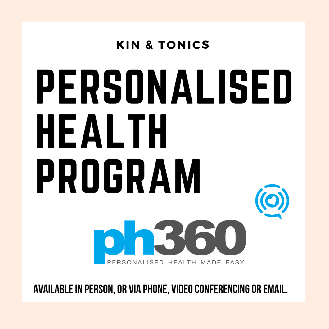 Naturopathic Personalised Health Program